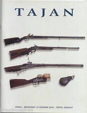 Catalogue de vente Tajan figurines souvenirs historiques armes Drouot 2003