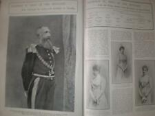 Photo article King Leopold of Belgium 1901