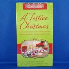 A Festive Christmas - 3 CD Music Collection - Carols & Hymns - NEW