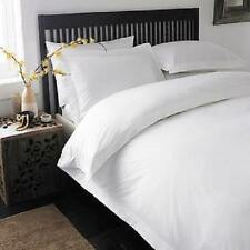 KING SIZE WHITE SOLID DUVET COVER SET + SHEET SET 1000 TC 100% EGYPTIAN COTTON