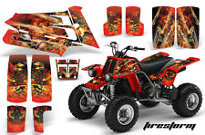 AMR Racing Yamaha Banshee 350 Decal Graphic Kit ATV Quad Wrap  87-05 FIRESTORM R