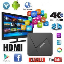 HD 4K D5 Quad-core Android 5.1 Smart TV Box Streaming Media Player