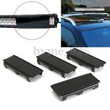 "4x 8"" Inch Black Curved Straight LED Light Bar Len Cover for Truck Offroad 32''"