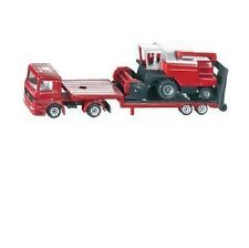 *NEW* SIKU 1620 BLISTER PACK Low Loader with Combine Harvester Diecast Model