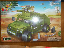 BanBao Militer Defence Force US Army Jeep  !!!!! new  Sealed
