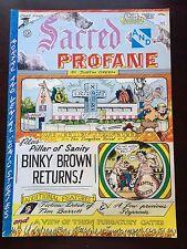 SACRED & PROFANE by Justin Green - 1976 Comic Book - Binky Brown - Last Gasp