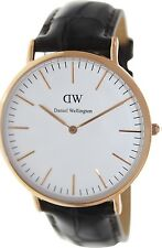 Daniel Wellington Men's York 0111DW Brown Leather Quartz Watch