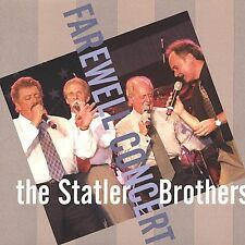 Farewell Concert Statler Brothers Audio CD