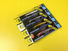 Lot B of Four 90mm Duel Hardore Floating Minnow 90F in 4 Colors Japan Lure, NIB.