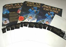 """Space Ace II Borf's Revenge Vintage PC Game 5.25"""" Version w/ Manual"""