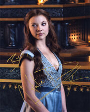 -(- GAME OF THRONES -)-(NATALIE DORMER)-(Margaery Tyrell) -Autographed 8x10 RP