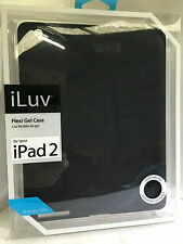 new ILuv brand iPad 2 Flex gel case cover Black RRP $49.99 for apple Ipad2