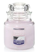 Yankee Candle pequeño tarro Lavanda miel heladería Nuevo en EE. UU. 2017