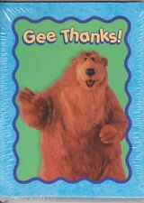 BEAR IN THE BIG BLUE HOUSE THANK YOU NOTES (8) ~ Birthday Party Supplies Disney