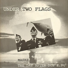 "UNDER TWO FLAGS - Masks / The Day After Dub E.P.  10""    VG++   SIT 32 TEN"