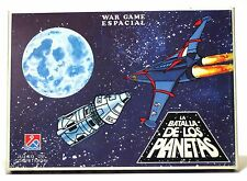 1970's Dalmau Battle of Planets GATCHAMAN WAR GAME new - Made In Spain - Vintage