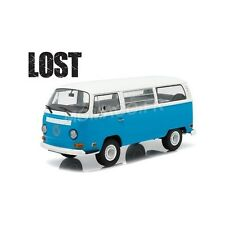 GREENLIGHT 19011 - Volkswagen VW T2B BUS DHARMA VAN 1971  LOST (2004-2010) 1/18