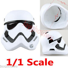 1/1 The Star Wars Storm Trooper Helmet PVC Replica Movie Prop Adult Mask New