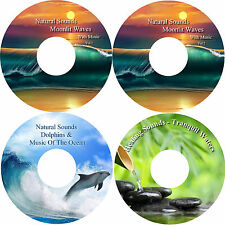 Natural Sounds & Music Peace & Harmony Relaxation 4 CD Set Healing Stress Relief