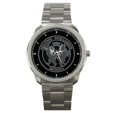 MI6 007 JAMES BOND ARMY SPY Mens Sport Steel Watch New