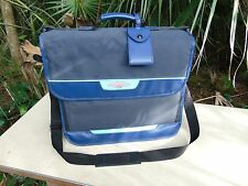 Generations Scrapbook Storage Bag Tote Black Blue Many Pockets Zippers Other