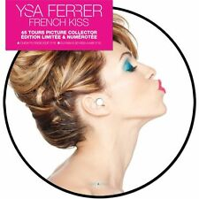 "YSA FERRER 'FRENCH KISS'  LTD FRENCH BLUE 7"" PICTURE"