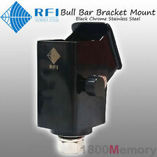 RFI Folding Bull Bar Antenna Bracket Mount Black for CDQ7195 CDQ2197 CDQ2199