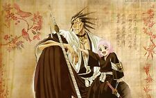 "Bleach Poster Kenpachi Zaraki Anime Art Silk Wall Posters Prints 36x24"" bleach30"
