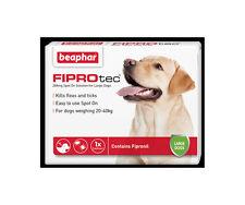 Beaphar FIPROtec Spot On for Large Dogs, 6 X Treatment against Fleas Ticks