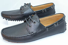 Gucci Men's Black Shoes Miro'Soft Loafers Drivers Size 11.5 Leather NEW NIB
