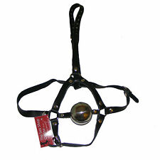 TheSexShopOnline - Bondage Metal Ball Gag Head Harness Restraint