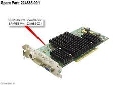 HP 224885-001 / 224086-001 Fire GL2 AGP (S1 2x/4x ATX) Workstation Evo W8000