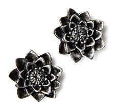 Lotus Flower Cufflinks - Gifts for Men - Anniversary Gift - Handmade - Gift Box