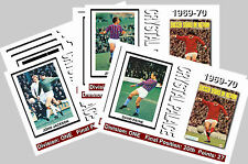 CRYSTAL PALACE - 1969/70 SERIES 1 - COLLECTORS POSTCARD SET