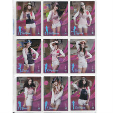 "Girl's Generation SNSD S-2 Season2 Collection GG2 046~054 Star Cards ""Brand New"""