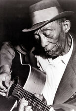 Mississippi John Hurt Poster, Playing Guitar, Iconic Blues Musician