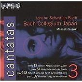 Bach: Cantatas, Vol 3 (BWV 12, 54, 162, 182) /Bach Collegium Japan · Suzuki, Pet