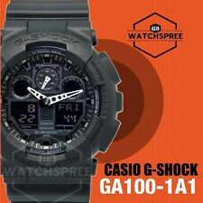 Casio G-Shock Bold Face. Tough Body. Series Watch GA100-1A1