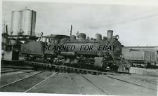 LOCOMOTIVE CIA AGRICOLA #166 VINTAGE  PHOTO