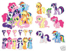 My Little Pony Friendship is Magic Group Set Removable Wall Stickers Decals