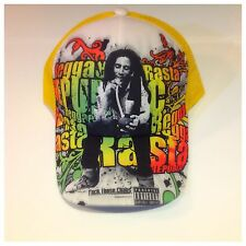 New Bob Marley Reggae Cap, Hats , Smoking, Grap One Now!!!