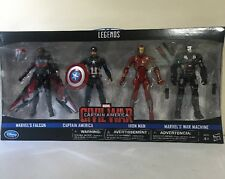 Marvel Legends Captain America Civil War Disney Store Unreleased In Hand Falcon