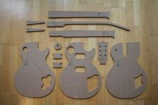 '59LP Templates for Guitar Building f.e. Gibson Les Paul Fender tonewood Repair