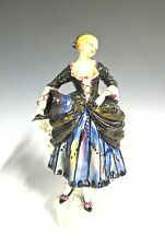 "Rare Royal Doulton HN735 Shepherdess Handwritten - 6 7/8"" High (#611)"