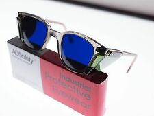 American Optical Vintage Cobalt Safety Glasses.N.O.S./A.N.S.I.Certified