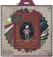 """Docrafts 12 x 12"""" scrapbooking papers Simply Gorjuss 32 pack 160gsm by Santoro"""
