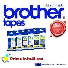 Brother TZ325 TZE325 TZE-325 Genuine 9mm White on Black Tape PT-1230 PT-1880