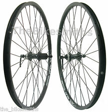"Alex DP20 26"" Bike Wheel Set Shimano RM66 CenterLoc Disc Hub 8 9 10 speed w/ DT"