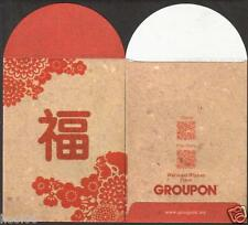 Groupon CNY 2 pcs Mint Red Packet Ang Pow