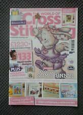 THE WORLD OF CROSS STITCHING # 218 SOMEBUNNY - ALLIUMS - BABIES - COUNTRY CHARM